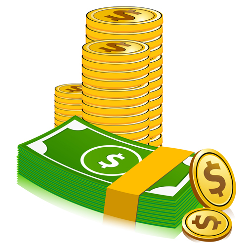 stack of dollar currency from 247clipart.com